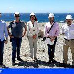 Firman el acta de replanteo del Nivaria Beach en la urbanización Caleta de María Luisa en Abades, Arico