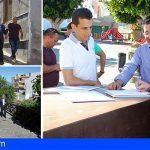 Inician las obras de remodelación de las calles Arriba y Abajo en Guía de Isora