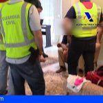 Detenidos en Arona, Barcelona y Francia los responsables de una organización criminal de origen ruso
