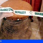 Incautan en Callao Salvaje una pata de elefante hallada en una vivienda a modo de taburete