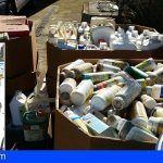Retiran en Tenerife más de 18 toneladas de residuos de productos fitosanitarios