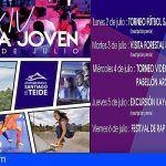 Juventud organiza la XIV edición de la Semana Joven de Santiago del Teide