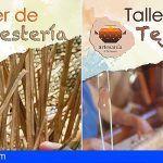 La Gomera. Nuevos cursos de caña, mimbre y tejeduría para fomentar el sector artesanal en la Isla