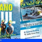 La Gomera. Verano Azul en Valle Gran Rey para los más jóvenes