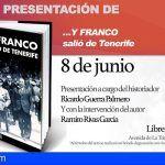 """""""…Y Franco salió de Tenerife"""" se presenta el 8 de junio en la Librería Lemus de La Laguna"""