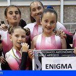 El patinaje artístico de San Miguel triunfa en el Campeonato de Canarias
