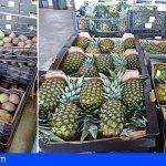 Inmovilizan cautelarmente 4.288 kilos de piña tropical y 413 de aguacate en Fuerteventura
