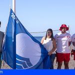 La Bandera Azul ondea en San Sebastián de La Gomera por segundo año consecutivo