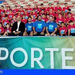 El pabellón de Granadilla acoge la quinta edición del campus de fútbol sala 'Jacinto Delgado'