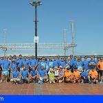 La limpieza del litoral y fondo marino de Santiago del Teide contó con un gran número de colaboradores