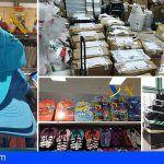 Intervenidas 13.000 prendas falsificadas en San Miguel de Abona y La Laguna