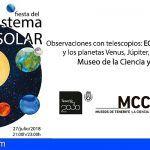 Tenerife. Este 27 de julio puedes ver el eclipse por telescopio en el Museo de la Ciencia y el Cosmos