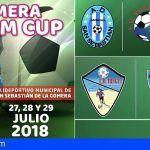 San Sebastián de La Gomera acoge el primer torneo de fútbol femenino de las Fiestas Lustrales