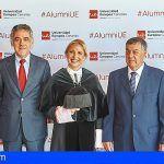Más de 150 estudiantes reciben su beca en el acto de Graduación de la Universidad Europea de Canarias