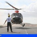Incorporan de manera permanente un nuevo helicóptero para reforzar el servicio del GES