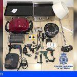 Detienen en Lanzarote a dos hombres por los delitos de hurto y receptación respectivamente