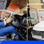Hyundai Canarias entregó el primer taxi eléctrico de las Palmas en Expotaxi: Hyundai IONIQ