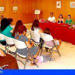 Inaugurada la muestra de talleres artísticos en Santiago del Teide