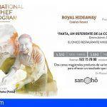Chefs con estrella Michelin se citan en Adeje con motivo del Inspirational Chef Program