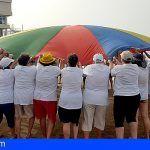 San Miguel. Mayores y Amisur se benefician de actividades en la playa