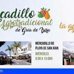 Se reanuda el Mercadillo Agrotradicional de Alcalá y Playa San Juan