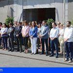 En señal de luto por las víctimas de violencia de género en La Orotava el Cabildo guarda un minuto de silencio