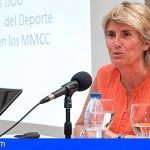 Paloma del Río ponente en el curso de Periodismo Deportivo de la Universidad de Verano de Adeje