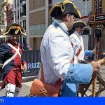 Santa Cruz recrea el desembarco británico y los combates en las calles de la ciudad