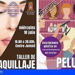 San Sebastián celebra talleres de automaquillaje, pintura, salsa y peluquería esta semana