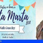 Fiestas en honor a Santa Marta 2018 en Valle Gran Rey, la Gomera