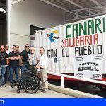 Gran Canaria envía un contenedor con 10 toneladas a los campamentos saharauis