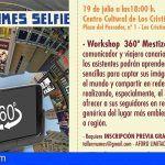 Arona. Un 'selfie' 360o Mestizos en el Festival MUMES 2018 con el periodista y viajero Erick Canino