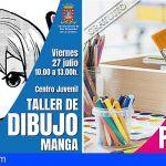 San Sebastián acoge dos talleres de pintura y dibujo manga esta semana