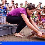 Loro Parque Fundación y la carrera Dialprix Blue Running aúnan fuerzas en favor de las tortugas marinas