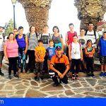San Miguel. Una veintena de residentes fueron partícipes de una ruta al atardecer organizada por el ayuntamiento