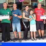 Entregan los premios del sorteo del Patronato de Deportes en «Arona en Colores»