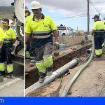 Arona amplía a Cabo Blanco, Los Cristianos y Chayofa la sustitución de la red de abastecimiento de agua