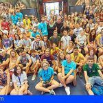 El Cabildo de Tenerife recibe a los participantes del X Campamento Estatal de Juventud Sorda 2018