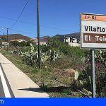 El Cabildo invierte más de 900.000 euros en rehabilitar la carretera de acceso al Teide por Arona