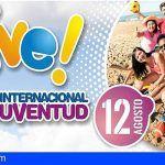 Instalarán carpas informativas en playas de Canarias por el Día Internacional de la Juventud