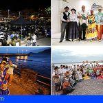 El Festival de los Pueblos hace vibrar la bahía de El Médano en su 25 aniversario