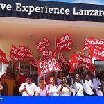 Éxito rotundo en la primera jornada de huelga en Be Live Lanzarote
