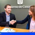 Canarias firma un convenio con Binter para abaratar los viajes escolares
