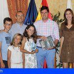 El Ayto. de Santiago del Teide realiza un reconocimiento a la deportista Lorena Barrientos