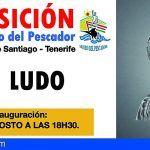 Inauguración de la exposición de las obras de Ludo en el Museo del Pescador en Santiago del Teide