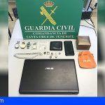Dos detenidos en Candelaria por el robo de 50.000 euros en joyas y objetos