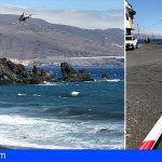 Arafo cierra al baño Playa de Lima por un vertido de hidrocarburos en Candelaria