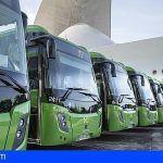 TITSA adjudica la compra de 74 nuevas guaguas por 16,8 millones de euros