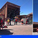 Rescatadas 34 personas del Teleférico del Teide
