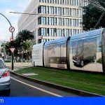 El tranvía de Tenerife reduce frecuencias a partir de mañana jueves, 19 de marzo